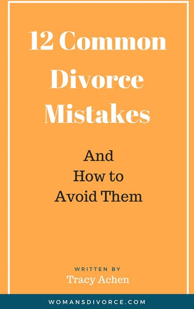 12 common divorce mistakes and how to avoid them