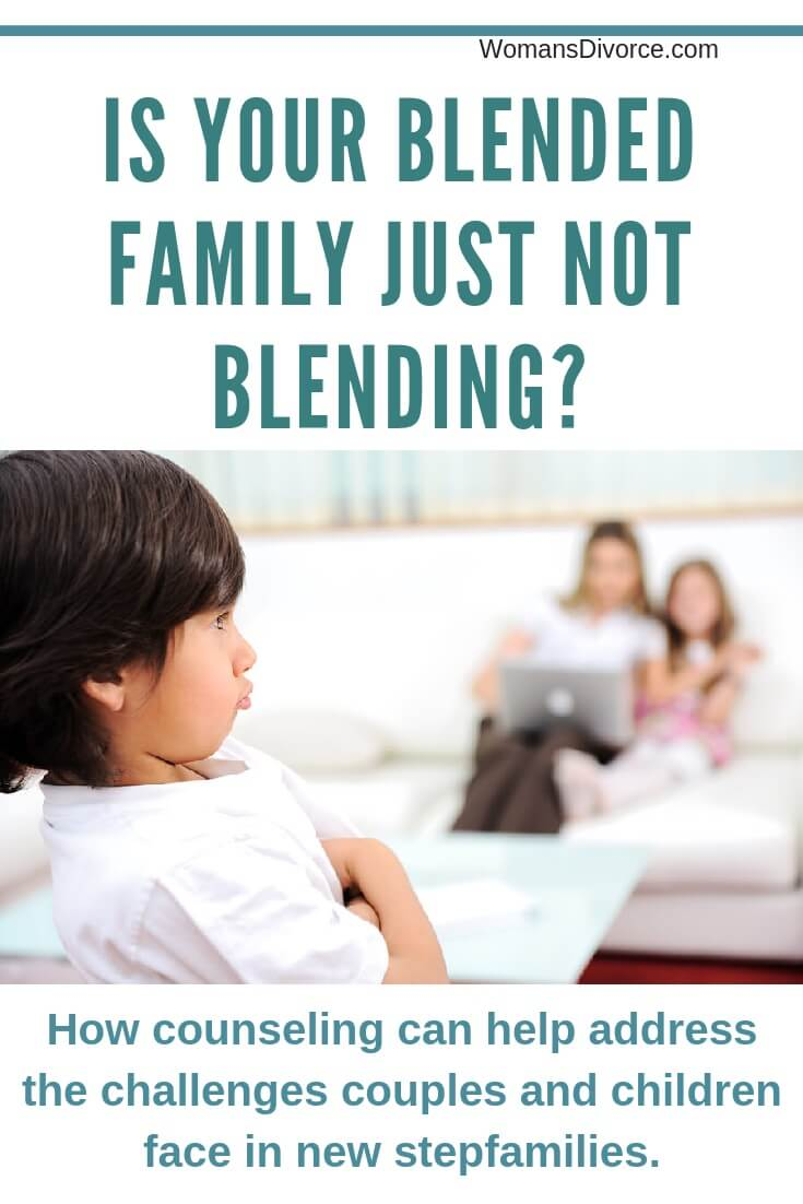 How counseling can help address blended family challenges.