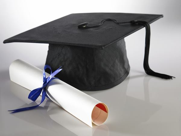 Graduation cap and diploma - how will you handle your child's special events after divorce?