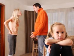 Parents arguing over visitation