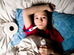 Visitation when a child is sick
