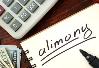 Budgeting for alimony payments