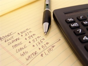 Listing bills so you can budget your paycheck