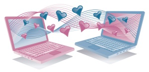 Finding love through internet dating websites