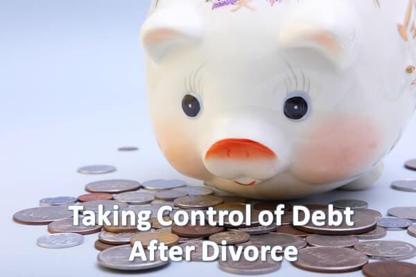Managing your debt after divorce