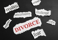 The different stresses of divorce