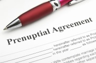 Pen and prenuptial agreement