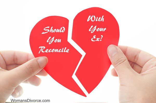 Mending a broken heart image - should you reconcile with your ex?