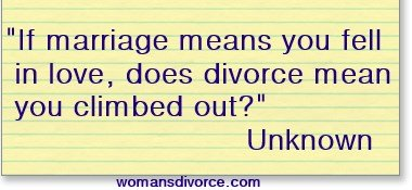 funny divorce quote