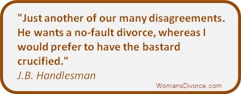 divorce quote by J.B. Handlesman