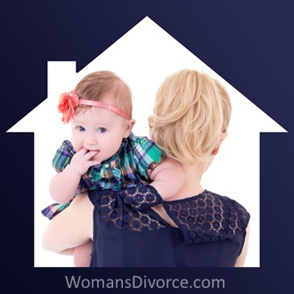 Divorce looming for stay at home mom with baby