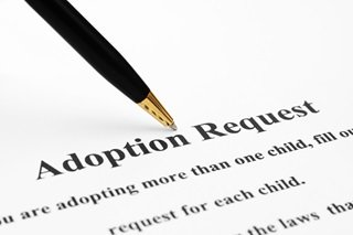 Adoption request form