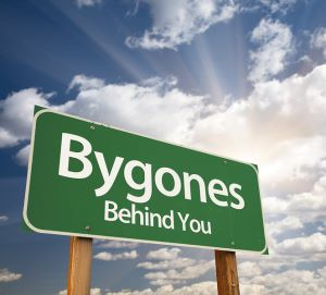Sign for practicing forgiveness and putting your bygones behind you