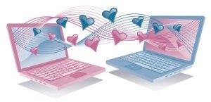 Finding love through internet dating websites