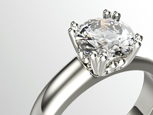 Beautiful diamond engagement ring