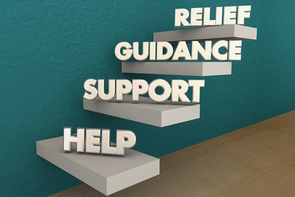 Concept of the help and support you'll receive from SBI