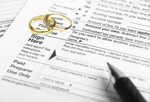 Should you sign a joint tax return during divorce